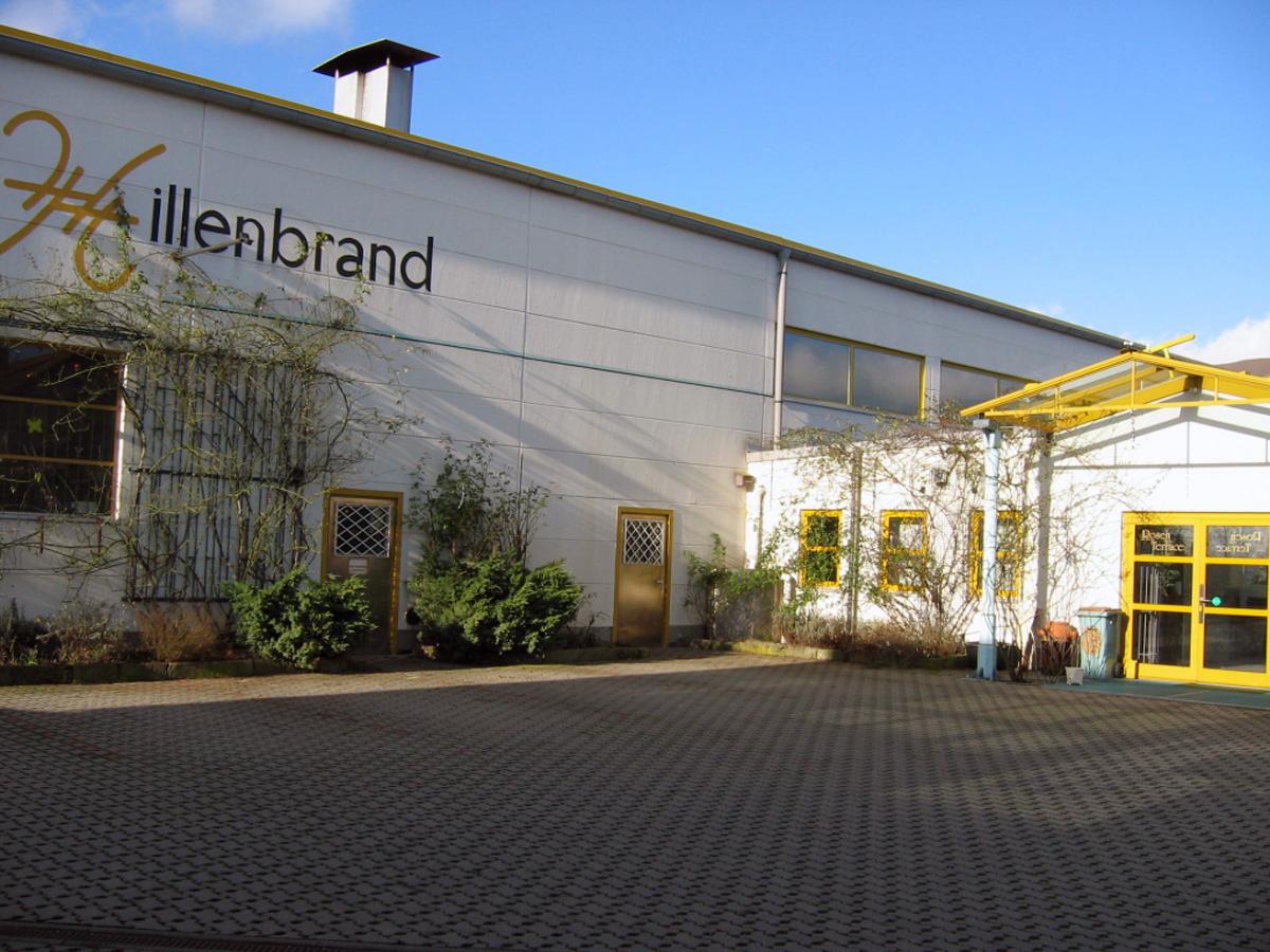 Das Firmengebäude Hillenbrand